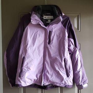 Columbia Bugaboo Omnitech women's coat jacket L